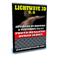 Lightwave 3D 9.6-Advanced UV Mapping & Texturing Vol. #1