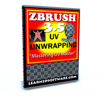 "ZBrush 3.5 UV Unwrapping-""Mastering UV Master Plug-in"""